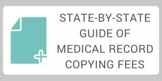 Medical Records Request Letter From Attorney State By State Guide Of Medical Record Copying Fees Medicopy