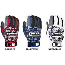Batting Glove Size Chart Franklin Franklin Digitek Mens Batting Gloves