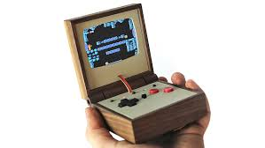 How To Make Wooden Games Retro Gaming Goes OlderSchool With A Portable Wood Emulator 79