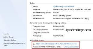 2021 working windows 7 key