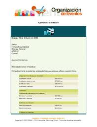 Formato Para Cotizacion De Servicios Formato De Cotizacion Para Eventos Tirevi Fontanacountryinn Com