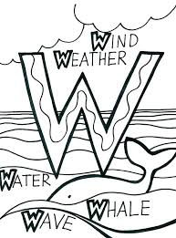 W Words Coloring Sheets L Sight Word Coloring Pages First Grade