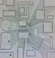 perspective drawings of buildings. 6th Gr. One-Point Perspective Drawings Of Buildings R