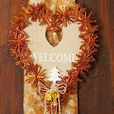 Türschmuck Advent Weihnachten Mit Herz Aus Holz