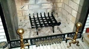 fireplace grate heat exchanger fireplace grate blower