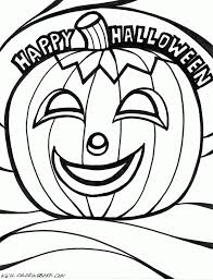 Happy Halloween Coloring Pages | Clipart Panda - Free Clipart Images
