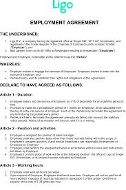 Arbeidsovereenkomst Onbepaalde Tijd Engels