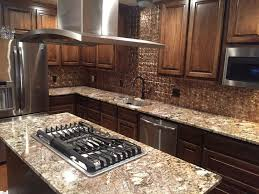 granite countertops kitchen earthtones