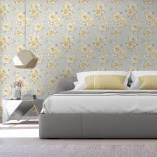 holden decor peony fl yellow grey