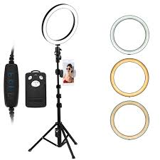 Ring Light Photography Amazon Deeteck 10 Inch Selfie Ring Light With Adjustable Tripod Stand Dimmable Beauty Light With Phone Holder Led Camera 360 Degree Ring Lights Kit