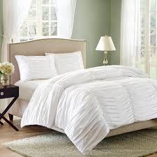 linen duvet cover queen ruched duvet cover ruffle bedspread
