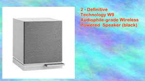 definitive w9. definitive technology w9 audiophilegrade wireless powered speaker pair o