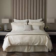 cotton sateen bedding  saverne soft gold bedlinen at bedeck