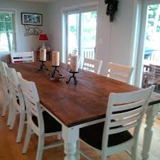 8 foot round table the 9 foot table plenty of space to entertain 8 people warm 8 foot round table