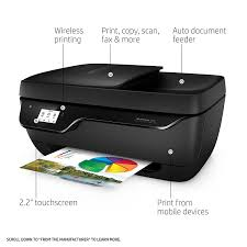 Amazon Com Hp Officejet 3830 All In One Wireless Printer With How To Make A Printer Print In Color L