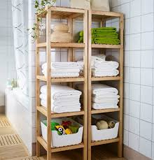 these wooden shelf units are ideal for a bathroom and you can make them using par pine that you will find at your local builders warehouse