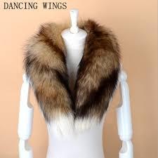 Men Women <b>Genuine Fox</b> Fur Scarf <b>100</b>% <b>Real</b> Natural <b>Fox</b> Fur ...
