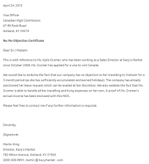 letter of non objection format of non objection certificate pics how to obtain a free no