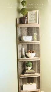 Bathroom Corner Shelves Wood