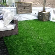 artificial grass patio green turf rug 6 x 8