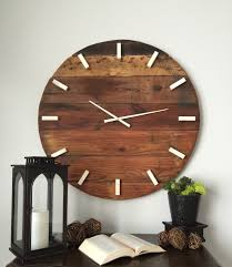 amazing large wall clocks for your interior decor rustic wall clock oversized wall clock large