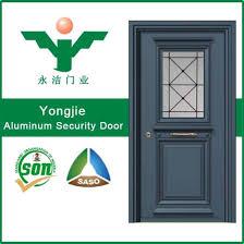 high quality manufacturers security aluminium swing door