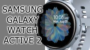 ОБЗОР | <b>Часы Samsung Galaxy</b> Watch Active 2 - YouTube