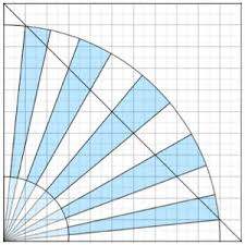 DRAFTING GRANDMOTHER'S FAN | Quilts - my quilt top | Pinterest ... & DRAFTING GRANDMOTHER'S FAN Adamdwight.com