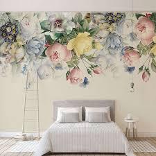 large flower wallpaper mural