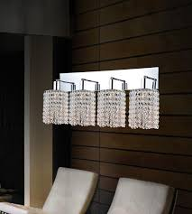 Chrome Bathroom Lighting Fixtures Simple 48 Light Vanity Light With Chrome Finish 482848WRCR Clear