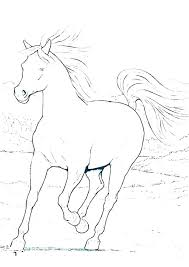 Printable Race Horse Coloring Pages Horse Coloring Sheets Free