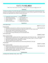 front desk agent resume sample hotel guest service cover letter