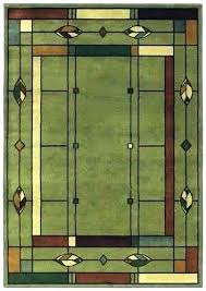 mission style rugs. Craftsman Style Rugs Arts And Crafts Area Mission Olive Green Lodge . T
