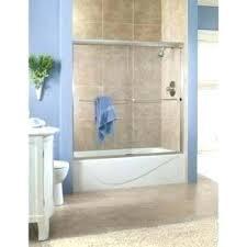 rain glass shower enclosure rain ass shower door 1 4 brushed nickel home designer program
