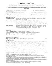 Best Resume Format For Software Developer Best Resume Format Software Engineer Resume Samples Best Resume