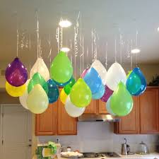 since no helium balloons allowed
