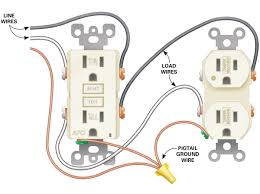 Wiring Outlets And Lights On Same Circuit Wiring Two Outlets Ther Diagram How To Wire Multiple Outlets