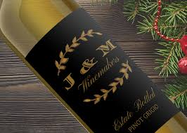 inexpensive gifts don t have to look this custom wine label is only