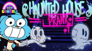 the amazing world of gumball haunted house prank play gumball cartoon network kids games