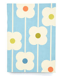love this orla kiely abacus flower journal