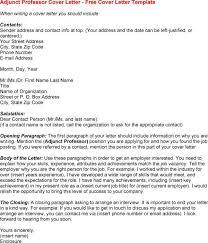 faculty application cover letter sample sample cover letter adjunct instructor adjunct professor cover