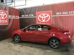 New 2018 Toyota Corolla 4 Door Car in Red Deer, AB J2035