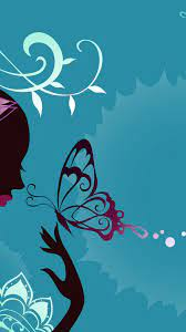Cute Wallpapers Iphone Blue Butterfly ...