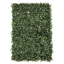 Faux Silk Boxwood Greenery Wall Panel Mat Backdrop 60cm X 40cm