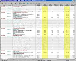 Construction Estimating Spreadsheet Excel And Building Estimate