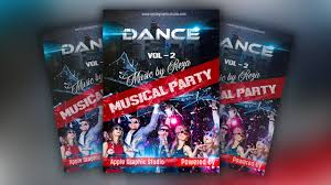 How To Create A Party Flyer How To Create A Party Flyer Photoshop Tutorial Youtube