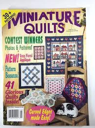 Miniature Quilts Magazine Back Issues Miniature Quilts Magazine ... & ... Miniature Quilts Magazine Back Issues Miniature Quilts Magazine 23 Jan  Feb 1996 30 Patterns Vol 6 ... Adamdwight.com