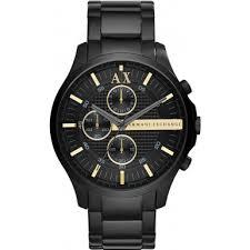 ax2164 armani exchange mens all black chronograph dress watch armani exchange ax2164 mens all black chronograph dress watch