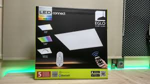 Painel Led Eglo Rgbtunable Whites Unboxing