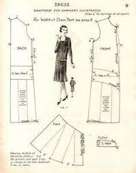 1920s Dress Patterns Adorable Free Vintage 48s Flapper Dress Sewing Draft Pattern Flapper 48s